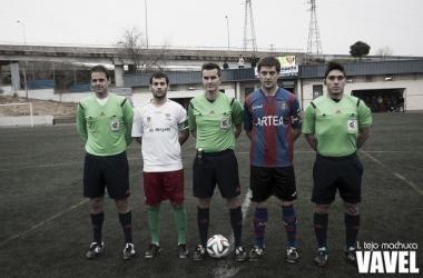 Fotos e imágenes del Trival Valderas 1-1 Leioa, 21ª jornada del grupo II de Segunda División B