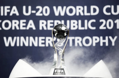 Trofeo de la competición / Foto: FIFA Web