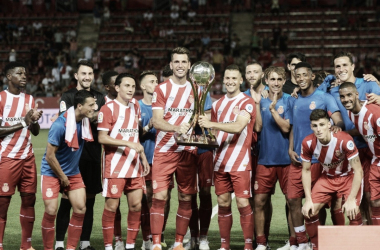 El Girona se lleva el Trofeo Costa Brava en su estreno en casa (Foto: Girona FC)