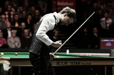 Judd Trump is eyeing up Sunday's final (photo: Sporting Life)