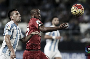 El Málaga le moja la oreja al Deportivo