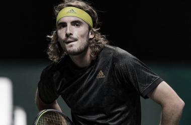 Stefanos Tsitsipas venceu Egor Gerasimov no Rptterdam Open 2021 (ATP / Divulgação)
