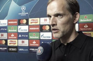 Thomas Tuchel elogia atuação do PSG e diz que vitória do Liverpool ''não teve lógica''