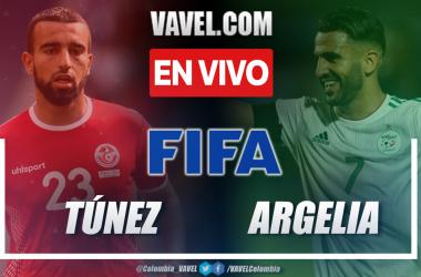 Resumen y goles de Túnez vs Argelia (0-2) por amistoso internacional