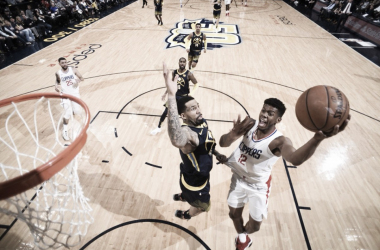 Tyrone Wallace. Fonte: LA Clippers/Twitter