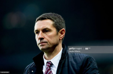BIRMINGHAM, ENGLAND - DECEMBER 13 : Remi Garde manager of Aston Villa looks on during the Barclays Premier League match between Aston Villa and Arsenal at Villa Park on December 13, 2015 in Birmingham, England. (Photo by Neville Williams/Aston Villa FC via Getty Images)