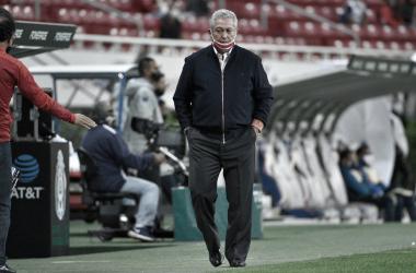 Víctor Manuel Vucetich no se confía pese al resultado positivo obtenido en la ida