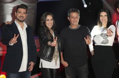 Antonio Orozco, Malú, Alejandro Sanz y Laura Pausini (Foto: Revista Love)