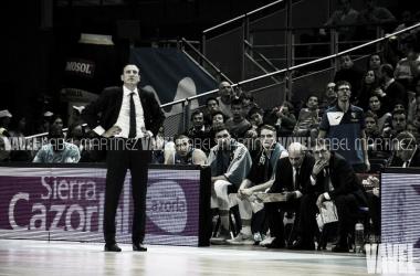 Maldonado dejará de ser entrenador de Movistar Estudiantes (foto:Isabel Martínez, VAVEL)