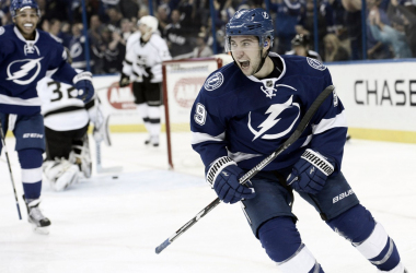 The Arizona Coyotes could use the talents of Tampa Bay Lightning center Tyler Johnson. (Photo: TBO.com)