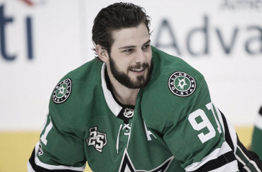 "Tyler Seguin Dallas Stars (Photo courtesy of <span class=""irc_ho"" dir=""ltr"" style=""text-decoration-line: underline; color: rgb(214, 214, 214); cursor: pointer; outline: none; font-family: arial, sans-serif; font-size: 13px; font-style: normal; text-align: start; background-color: rgb(34, 34, 34); unicode-bidi: isolate; margin-right: -2px; padding-right: 2px;""><a class=""o5rIVb irc_hol i3724 irc_lth"" rel=""noopener"" jsaction=""mousedown:irc.rl;focus:irc.rl"" data-noload="""" target=""_blank"" tabindex=""0"" href=""https://www.google.ca/url?sa=i&source=images&cd=&cad=rja&uact=8&ved=2ahUKEwirmr7u28HfAhUZIDQIHcteBfMQjB16BAgBEAQ&url=https%3A%2F%2Fnesn.com%2F2017%2F11%2Ftyler-seguin-makes-profoundly-stupid-comment-on-nhl-language-barriers%2F&psig=AOvVaw3aLO1J0kVoD1esmFU9qZgI&ust=1546058765123203"" data-ved=""2ahUKEwirmr7u28HfAhUZIDQIHcteBfMQjB16BAgBEAQ"" style=""text-decoration-line: underline; color: rgb(214, 214, 214); cursor: pointer; outline: none; font-family: arial, sans-serif; font-size: 13px; font-style: normal; text-align: start; background-color: rgb(34, 34, 34);"">NESN.com</a>)</span>"