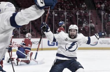 Tampa Bay dejó herido de muerte a los Canadiens al tomar ventaja de 3-0 en la serie