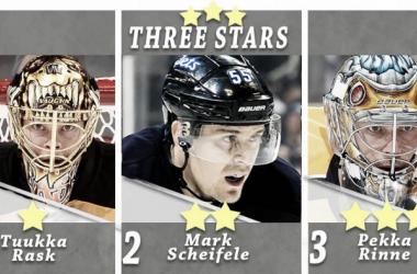 Rask lidera las tres estrellas de la semana