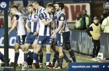 El Wigan da la campanada y elimina al City de la FA Cup