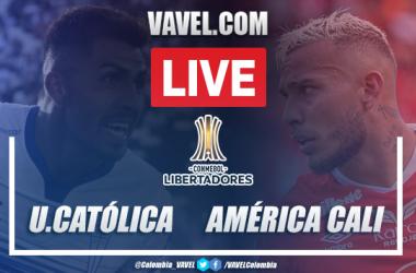 Resumen y goles: Universidad Católica 1-2 América de Cali Copa Libertadores 2020
