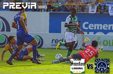Santos Laguna - Atlético San Luis: por la revancha de los Albiverdes