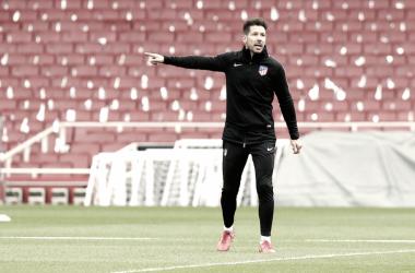 Diego Pablo Simeone || FOTO: Club Atlético de Madrid.
