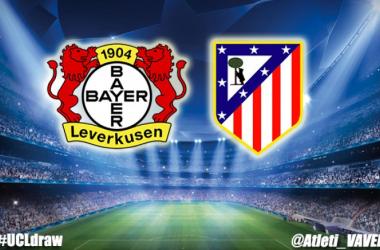 El Atlético se enfrentará al Leverkusen en octavos de la Champions