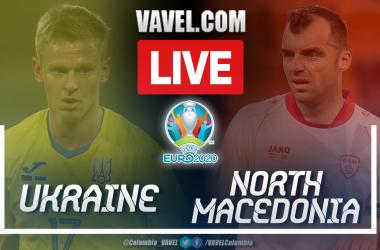 Highlights and goal: Ukraine 2-1 North Macedonia in UEFA Euro 2020