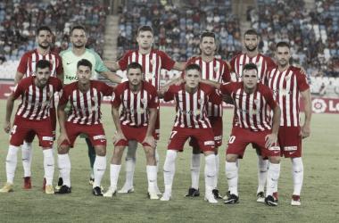 Puntuaciones UD Almería - CD Tenerife: puntuaciones UD Almería