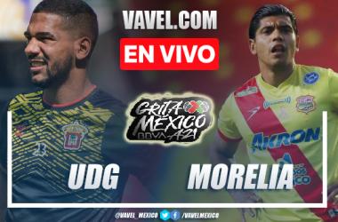 Goles y resumen del Leones Negros 2-1 Atlético Morelia en Liga Expansión MX 2021