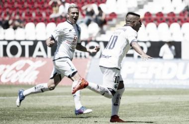 Daniel Ludueña abrió el marcador por la vía penal | Foto: Ascenso MX