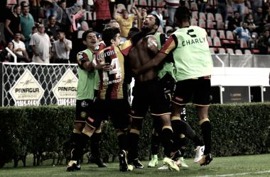 Jorlian Sánchez le dio la victoria al cuadro melenudo | Foto: Ascenso MX
