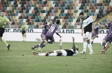 Jovem Montiel marca na prorrogação e garante vitória da Fiorentina contra Udinese na Copa da Itália