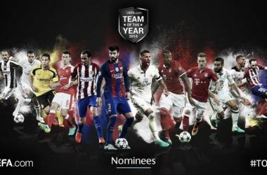 UEFA, ecco i candidati alla squadra dell'anno