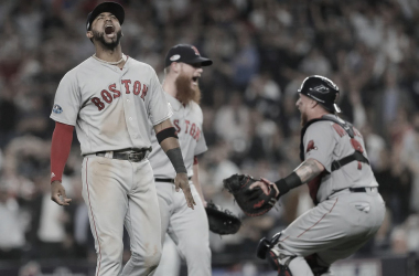 Jugadores de Red Sox durante un partido / Foto: Associated Press