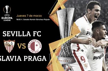 Sevilla FC contra Slavia de Praga | Foto: Sevilla FC