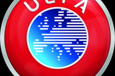 Logo de la UEFA.