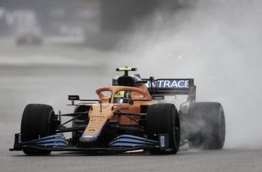 Norris a bordo de su McLaren | Foto: Fórmula 1