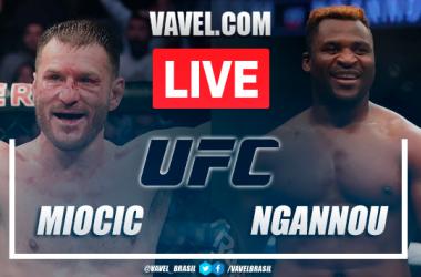 Resultados e Melhores momentos:Miocic x Ngannou no UFC 260