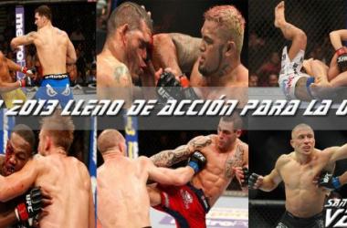 Un 2013 lleno de acción para UFC
