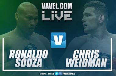 UFC EN VIVO: Daniel Cormier vs Derrick Lewis, Ronaldo Souza vs Chris Weidman en UFC 230