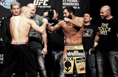 Georges St. Pierre - Johny Hendricks, UFC 167