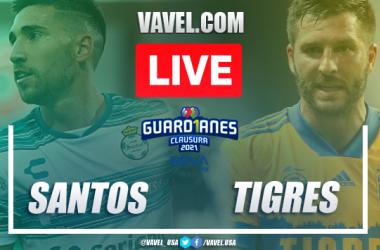 Goals and Highlights: Santos 2-0 Tigres, 2021 Liga MX
