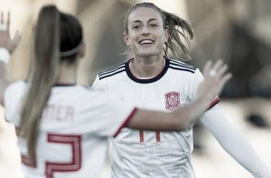España lidera el grupo B de los clasificatorios mundialistas con nueve puntos tras tres victorias al hilo | Fotografía: UEFA