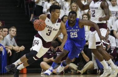 SEC Tournament Final Score: Kentucky Wildcats - Texas A&M Aggies (82-77)