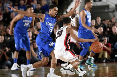 #22 Kentucky Wildcats Face Guard Dominant Georgia Bulldogs