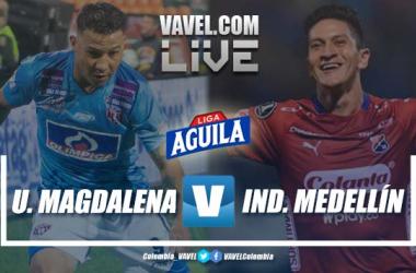 Resumen: Unión Magdalena vs Independiente Medellín por la cuarta fecha de la Liga Aguila 2019-II