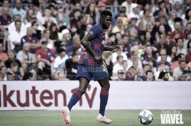 Umtiti vuelve a jugar al fútbol | Foto: Noelia Déniz - VAVEL