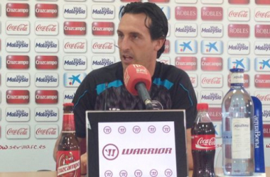 """Emery: """"Somos conscientes de la dificultad de este partido"""""""