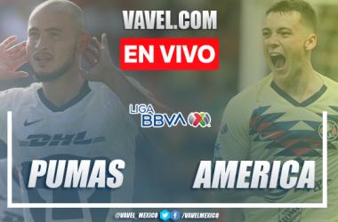 Resumen y goles: Pumas 3-3 América en Liga MX 2020