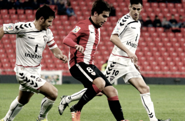 Undabarrena en un partido frente al Albarcete | Foto: Athletic Club