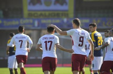Serie A - La Roma torna a sorridere, Hellas battuto al Bentegodi: decide Under (0-1)