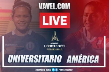 Resumen Universitario vs América (0-5) en la fecha 1 por Copa Libertadores Femenina 2020