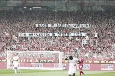 """""""10 años después un equipo del Este en esta Liga"""". FOTO: FC Union"""