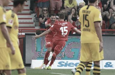 Marius Bülter marcó dos goles para el inolvidable triunfo sobre el Borussia Dortmund | Fotografía: Union Berlin
